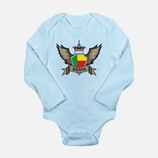 Benin Emblem Long Sleeve Infant Bodysuit