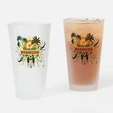 Palm Tree Bermuda Pint Glass