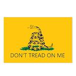 Don't Tread On Me (Gadsden Flag) Postcards (Packag