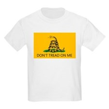 Don't Tread On Me (Gadsden Flag) Kids T-Shirt