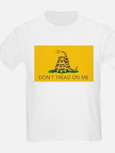 Don't Tread On Me (Gadsden Flag) Kids T-Shirt