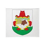 Bermuda Coat Of Arms Throw Blanket