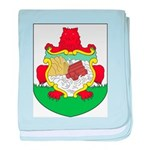 Bermuda Coat Of Arms baby blanket