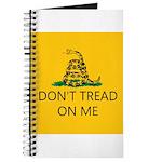 Don't Tread On Me (Gadsden Flag) Journal