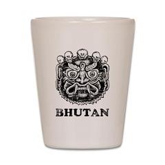 Bhutan Shot Glass
