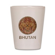Vintage Bhutan Shot Glass
