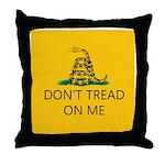Don't Tread On Me (Gadsden Flag) Throw Pillow