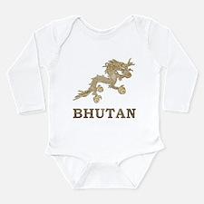 Vintage Bhutan Long Sleeve Infant Bodysuit