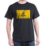 Don't Tread On Me (Gadsden Flag) Black T-Shirt