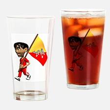 3D Bhutan Pint Glass