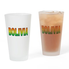 Bolivia Pint Glass
