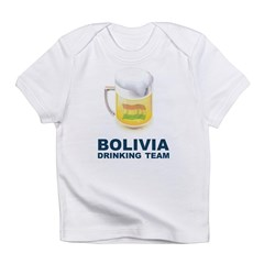 Bolivia Drinking Team Infant T-Shirt