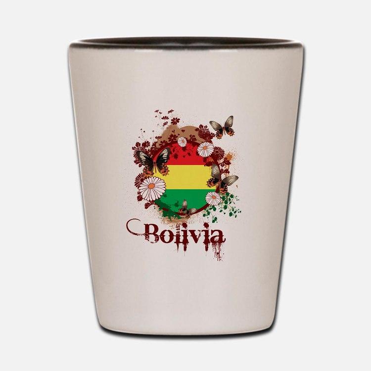 Butterfly Bolivia Shot Glass