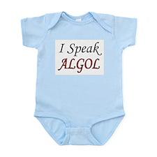 """""""I Speak ALGOL"""" Infant Creeper"""