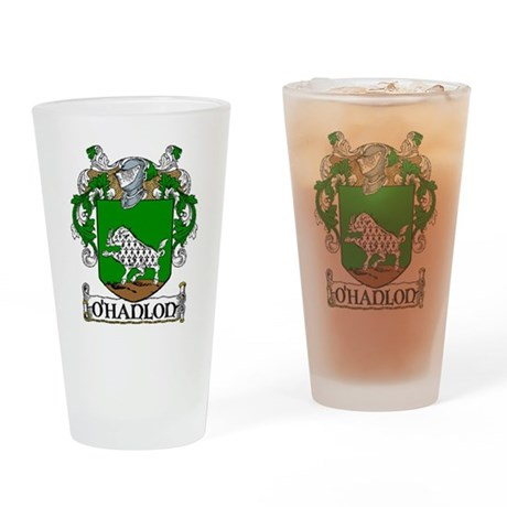 O'Hanlon Coat of Arms Pint Glass
