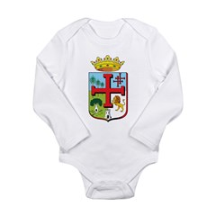 Santa Cruz de la Sierra Long Sleeve Infant Bodysui