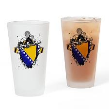 Hip Bosnia Pint Glass