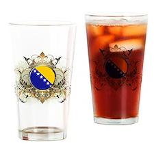 Stylish Bosnia Pint Glass