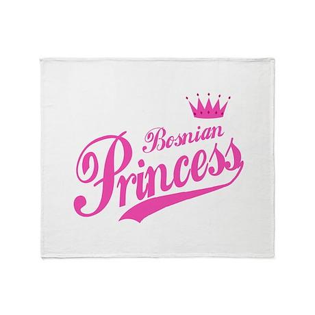Bosnian Princess Throw Blanket