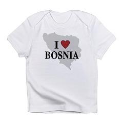I Love Bosnia Infant T-Shirt