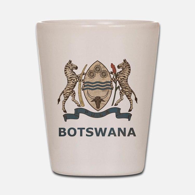 Vintage Botswana Shot Glass