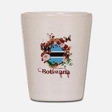 Butterfly Botswana Shot Glass