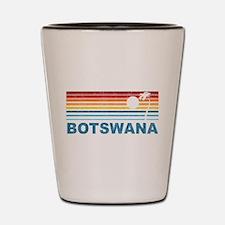 Botswana Palm Tree Shot Glass