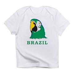 Brazil Parrot Infant T-Shirt