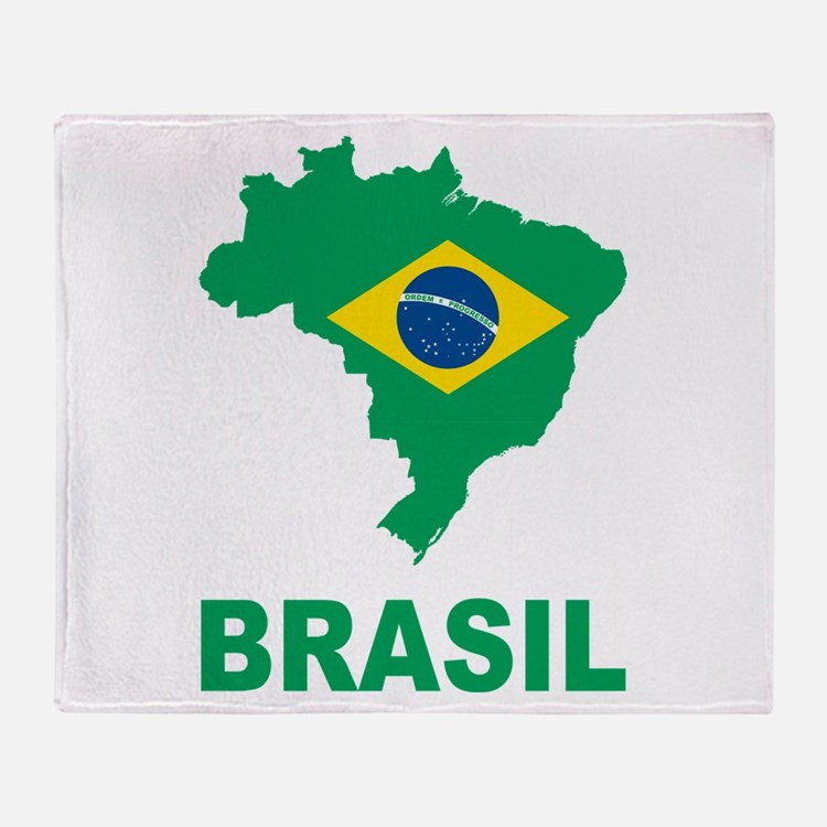 Brazil Throw Blanket
