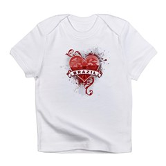 Heart Brazil Infant T-Shirt