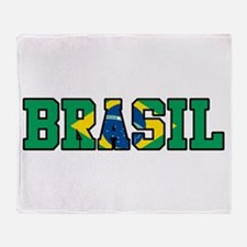 Brasil Throw Blanket