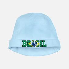 Brasil baby hat