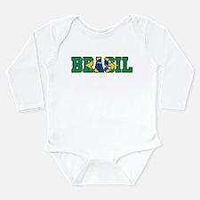 Brasil Long Sleeve Infant Bodysuit