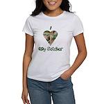 I Love My Soldier Women's T-Shirt