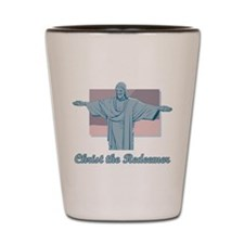Christ the Redeemer Shot Glass