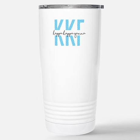 Kappa Kappa Gamma Polka Dots Travel Mug