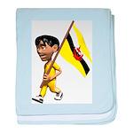 3D Brunei baby blanket