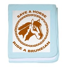 Ride A Bruneian baby blanket