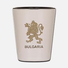Vintage Bulgaria Shot Glass