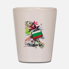 Flower Bulgaria Shot Glass