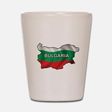 Map Of Bulgaria Shot Glass