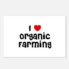I * Organic Farming Postcards (Package of 8)