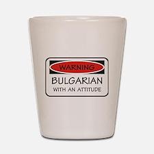 Attitude Bulgarian Shot Glass