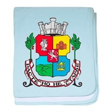 Sofia Coat Of Arms baby blanket