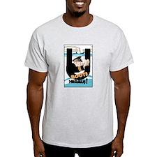 U-Boats Out War Poster T-Shirt