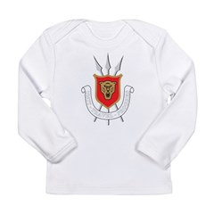 Burundi Coat Of Arms Long Sleeve Infant T-Shirt