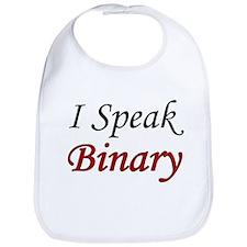 """I Speak Binary"" Bib"