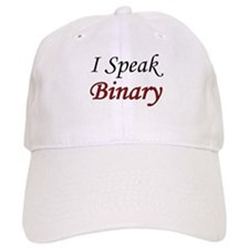 """""""I Speak Binary"""" Baseball Cap"""