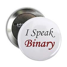 """I Speak Binary"" Button"