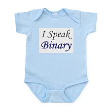 """""""I Speak Binary"""" Infant Creeper"""